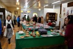 Christmas market and bake sale.