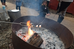 Marshmallow roasting!