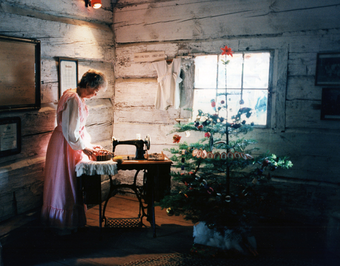 Christmas at Fresno Flats Historic Village