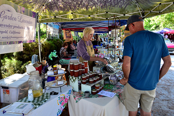 Fresno Flats Historical Park Community Flea Market