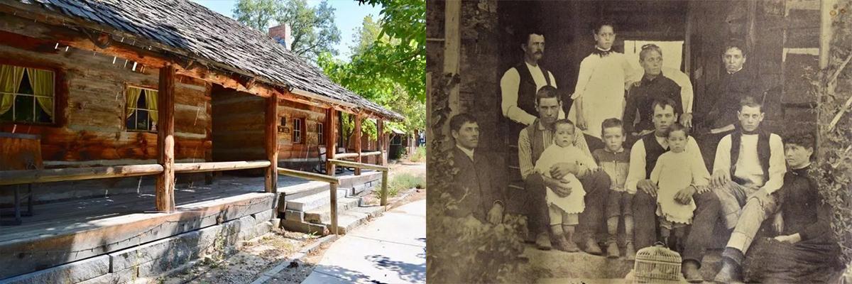 Fresno Flats Historical Society Taylor Log Cabin